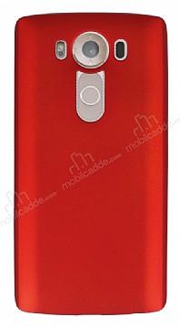 LG V10 Mat Kırmızı Silikon Kılıf