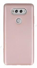 LG V20 Mat Rose Gold Silikon Kılıf