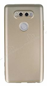 LG V20 Mat Gold Silikon Kılıf