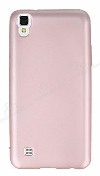 LG X power Mat Rose Gold Silikon Kılıf