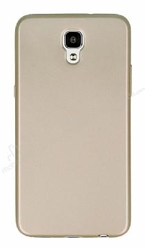 LG X Screen Mat Gold Silikon Kılıf