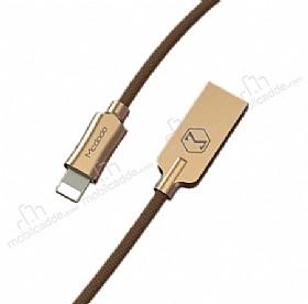 Mcdodo Lightning Işıklı Gold USB Data Kablosu 1,20m