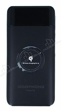 Meephone Kablosuz 10000 mAh Powerbank Siyah Yedek Batarya