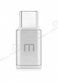 Meizu Micro USB to USB Type-C Silver Dönüştürücü Adaptör