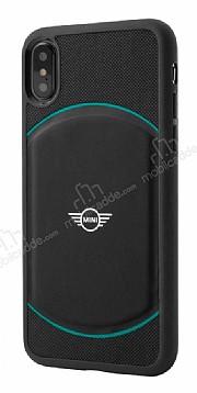 Mini iPhone X Debossed Circle Siyah Silikon Kılıf