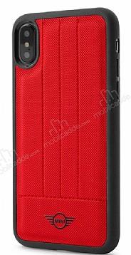 Mini iPhone X Silikon Kenarlı Kırmızı Kılıf