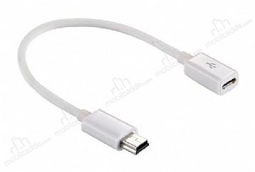 Cortrea Mini USB to Micro USB Dönüştürücü Adaptör 10cm