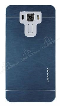 Motomo Asus Zenfone 3 Laser ZC551KL Metal Lacivert Rubber Kılıf