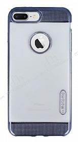 Motomo Gel iPhone 7 Plus / 8 Plus Dark Silver Silikon Kılıf