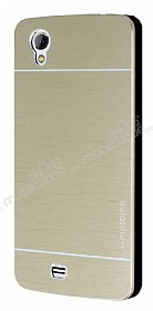 Motomo General Mobile Discovery 2 Mini Metal Gold Rubber K�l�f