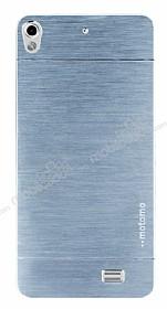 Motomo General Mobile Discovery Air Metal Silver Rubber Kılıf