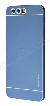 Motomo Huawei P10 Metal Lacivert Rubber Kılıf