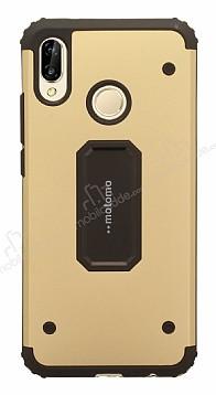 Motomo Huawei P20 Lite Ultra Koruma Gold Kılıf