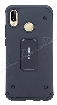 Motomo Huawei P20 Lite Ultra Koruma Siyah Kılıf