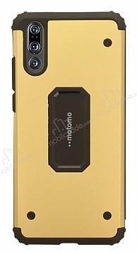 Motomo Huawei P20 Ultra Koruma Gold Kılıf