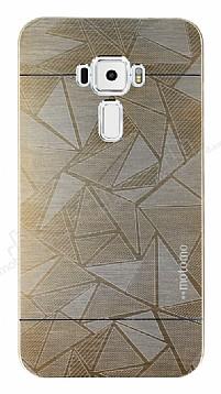 Motomo Prizma Asus ZenFone 3 ZE552KL Metal Gold Rubber Kılıf