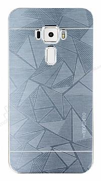 Motomo Prizma Asus ZenFone 3 ZE552KL Metal Silver Rubber Kılıf