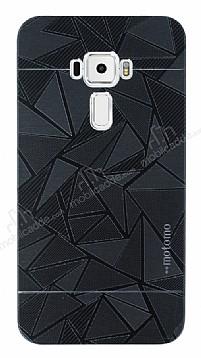 Motomo Prizma Asus ZenFone 3 ZE552KL Metal Siyah Rubber Kılıf