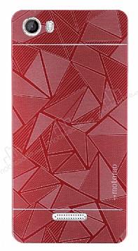 Motomo Prizma Casper Via M1 Metal Kırmızı Rubber Kılıf