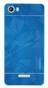 Motomo Prizma Casper Via M1 Metal Mavi Rubber Kılıf