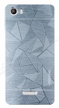 Motomo Prizma Casper Via M1 Metal Silver Rubber Kılıf