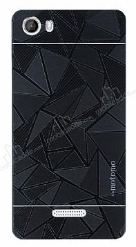 Motomo Prizma Casper Via M1 Metal Siyah Rubber Kılıf