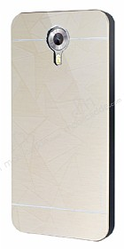 Motomo Prizma General Mobile Android One Metal Gold Rubber K�l�f