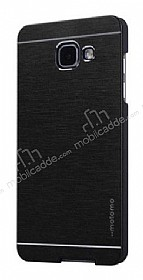 Motomo Samsung Galaxy A3 2017 Metal Siyah Rubber Kılıf
