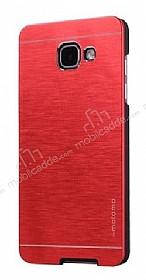 Motomo Samsung Galaxy A7 2017 Metal Kırmızı Rubber Kılıf