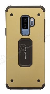 Motomo Samsung Galaxy S9 Plus Ultra Koruma Gold Kılıf