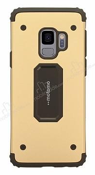 Motomo Samsung Galaxy S9 Ultra Koruma Gold Kılıf