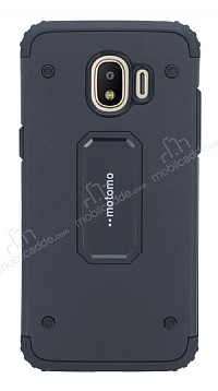 Motomo Samsung Grand Prime Pro J250F Ultra Koruma Siyah Kılıf