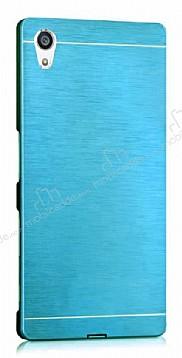 Motomo Sony Xperia Z3 Metal Mavi Rubber Kılıf