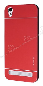 Motomo Vestel Venus V3 5010 Metal Kırmızı Rubber Kılıf