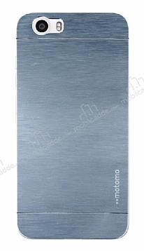 Motomo Vestel Venus V3 5070 Metal Silver Rubber Kılıf