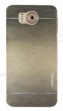 Motomo Vestel Venus V3 5580 Metal Gold Rubber Kılıf
