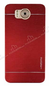 Motomo Vestel Venus V3 5580 Metal Kırmızı Rubber Kılıf
