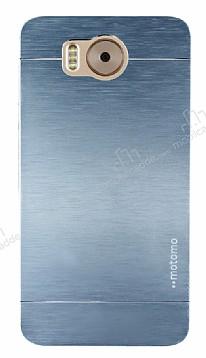 Motomo Vestel Venus V3 5580 Metal Silver Rubber Kılıf