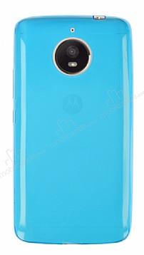 Motorola Moto E4 Plus Ultra İnce Mavi Silikon Kılıf