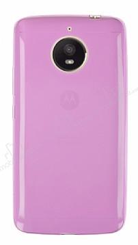 Motorola Moto E4 Plus Ultra İnce Pembe Silikon Kılıf