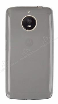 Motorola Moto E4 Plus Ultra İnce Şeffaf Siyah Silikon Kılıf