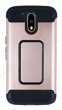 Motorola Moto G4 / G4 Plus Ultra Koruma Rose Gold Kılıf