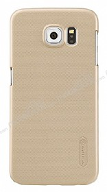 Nillkin Frosted Galaxy S6 Gold Rubber K�l�f