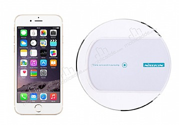 Nillkin Magic Disk II iPhone 6 Plus / 6S Plus Beyaz Kablosuz Şarj Cihazı