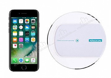 Nillkin Magic Disk II iPhone 7 / 8 Beyaz Kablosuz Şarj Cihazı