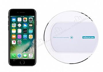 Nillkin Magic Disk II iPhone 7 Plus Beyaz Kablosuz Şarj Cihazı
