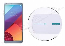 Nillkin Magic Disk II LG G6 Beyaz Kablosuz Şarj Cihazı