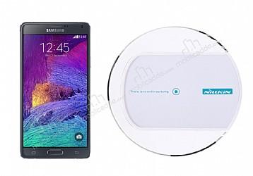 Nillkin Magic Disk II Samsung Galaxy Note 4 Beyaz Kablosuz Şarj Cihazı