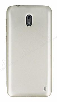 Nokia 2 Mat Gold Silikon Kılıf