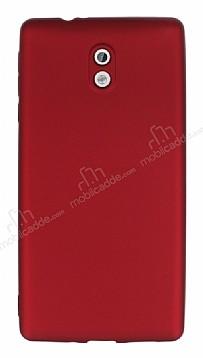 Nokia 3 Mat Bordo Silikon Kılıf